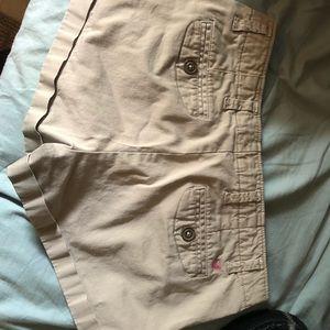 American eagle size four tan shorts